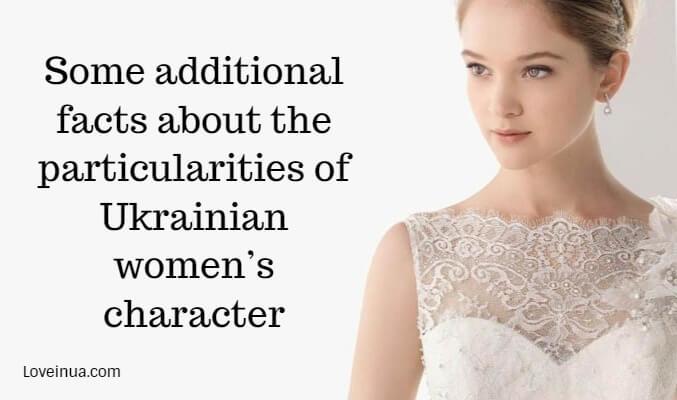Ukrainian women's character